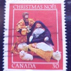 Sellos: MICHEL CA 859 - CANADÁ - CHRISTMAS (1982), NATIVITY SCENES - 1982. Lote 288627978