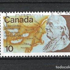 Sellos: CANADA SELLO USADO - 20/20. Lote 289910788