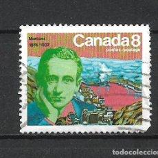 Sellos: CANADA SELLO USADO - 20/20. Lote 289910883