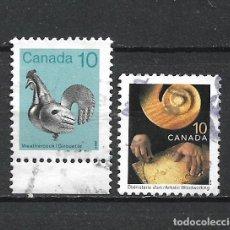 Sellos: CANADA SELLO USADO - 20/20. Lote 289911123