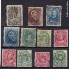 Sellos: FC3-226- TERRANOVA / NEWFOUNDLAND X 11 SELLOS ANTIGUOS USADOS . 100 EUROS. Lote 293834193