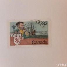 Sellos: CANADA SELLO USADO. Lote 295303288