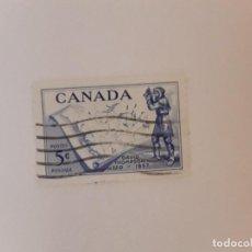Sellos: CANADA SELLO USADO. Lote 295303498