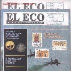 Sellos: 17-78. REVISTAS ECO FILATÉLICO Nº 1009 Y 1010. Lote 3331065
