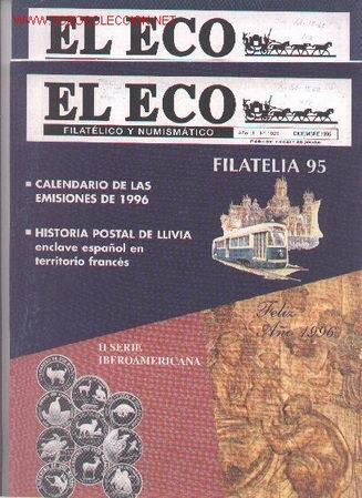 17-67. REVISTAS ECO FILATÉLICO Y NUMISMÁTICO (Filatelia - Sellos - Catálogos y Libros)