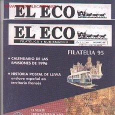 Sellos: 17-67. REVISTAS ECO FILATÉLICO Y NUMISMÁTICO . Lote 2919799