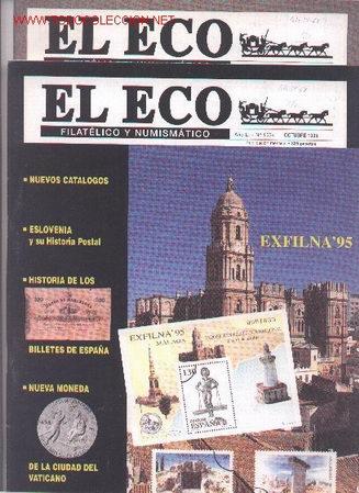 17-68. REVISTAS ECO FILATÉLICO Y NUMISMÁTICO (Filatelia - Sellos - Catálogos y Libros)