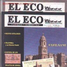 Sellos: 17-68. REVISTAS ECO FILATÉLICO Y NUMISMÁTICO. Lote 2919795
