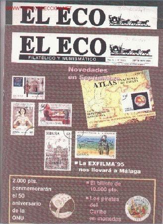 17-69. REVISTAS ECO FILATÉLICO Y NUMISMÁTICO (Filatelia - Sellos - Catálogos y Libros)