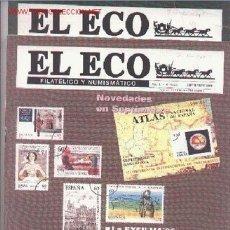 Sellos: 17-69. REVISTAS ECO FILATÉLICO Y NUMISMÁTICO. Lote 2919793