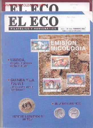 17-71. REVISTAS ECO FILATÉLICO Y NUMISMÁTICO (Filatelia - Sellos - Catálogos y Libros)