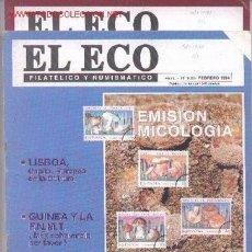 Sellos: 17-71. REVISTAS ECO FILATÉLICO Y NUMISMÁTICO. Lote 2919768
