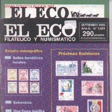 Sellos: 17-73. REVISTAS ECO FILATÉLICO Y NUMISMÁTICO. Lote 2909514