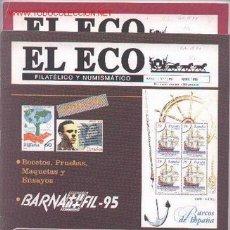 Sellos: 17-74. REVISTAS ECO FILATÉLICO Y NUMISMÁTICO. Lote 2909512