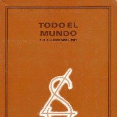 Sellos: CATÁLOGO SUBASTA * LAIZ * (1,2,3,4 DICIEMBRE 1981). CON MÁS DE 7500 LOTES. NUEVO. INTERESANTÍSIMO.. Lote 25574946
