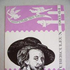 Sellos: CATALOGO DE CORREOS DE BELGICA CON MOTIVO DE EMISION DE SERIE: ANTITUBERCULEUX (ANTI TUBERCULOSIS). Lote 6411799