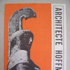 Sellos: CATALOGO DE CORREOS DE BELGICA CON MOTIVO DE EMISION DE SERIE: ARCHITECTE HOFFMANN,ANOS 60 APROX. Lote 6411821