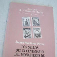 Sellos: LOS SELLOS DEL IX CENTENARIO DEL MONASTERIO DE MONTSERRAT-CUADERNOS DE REVISTA DE FILATELIA- Nº. 5. Lote 14599970