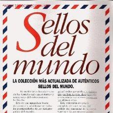 Sellos: COLECCIÓN SELLOS DEL MUNDO - INCOMPLETA. Lote 23634718