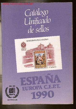 CATÁLOGO UNIFICADO DE SELLOS (Filatelia - Sellos - Catálogos y Libros)