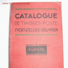 Sellos: CATALOGUE DE TIMBRES - POSTE YVERT & TELLIER - CHAMPION. 1953. Lote 27300571