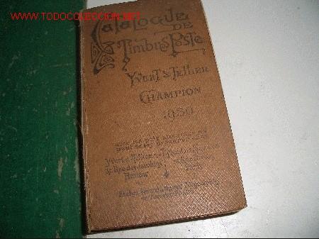 CATALOGE DE TIMBRES POSTE (Filatelia - Sellos - Catálogos y Libros)