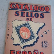 Sellos: CATÁLOGO - SELLOS DE ESPAÑA 1941 - RICARDO DE LAMA. FACSÍMIL. Lote 15550109