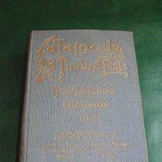 Sellos: CATALOGUE DE TIMBRES POSTE YVERT & TELLIER CHAMPION 1933. Lote 26213631