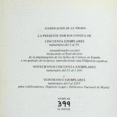 Sellos: MATASELLOS Y MARCAS ANGEL LAIZ EDICION LIMITADA 1978 FILATELIA. Lote 26514561