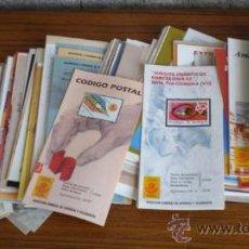 Sellos: 293 PROSPECTOS DE SELLOS AÑOS 80 Y 90. Lote 24882803