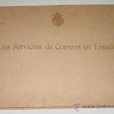 Sellos: LOS SERVICIOS DE CORREOS EN ESPAÑA : CARTOGRAFÍA Y PLANOS QUE REPRESENTAN SU ESTADO ACTUAL Y EL PROY. Lote 26563406
