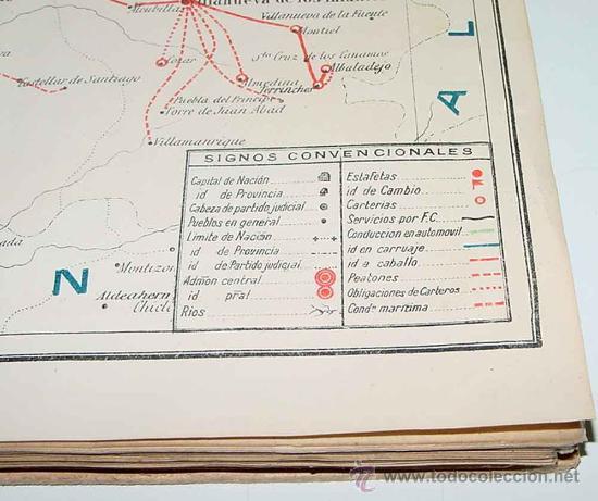 Sellos: Los servicios de correos en España : cartografía y planos que representan su estado actual y el proy - Foto 5 - 26563406