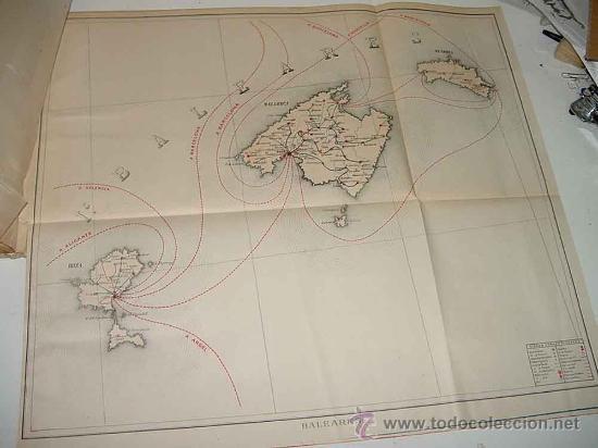 Sellos: Los servicios de correos en España : cartografía y planos que representan su estado actual y el proy - Foto 7 - 26563406