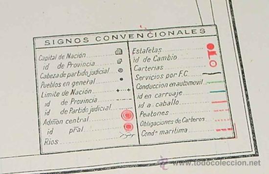 Sellos: Los servicios de correos en España : cartografía y planos que representan su estado actual y el proy - Foto 8 - 26563406