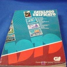 Sellos: CATÁLOGO UNIFICATO DE SELLOS - VOLUME STANDAR - ANNO V 1979. Lote 27172202
