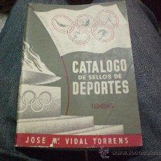 Sellos: CATALOGO DE SELLOS DE DEPORTES AÑO 1.966. Lote 25358427