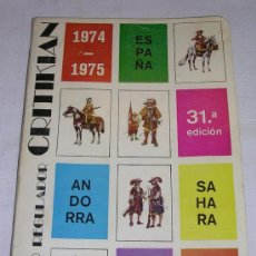 Sellos: CATALOGO REGULADOR CRITIKIAN 1974-1975 - ESPAÑA - ANDORRA - SÁHARA - . Lote 24514470