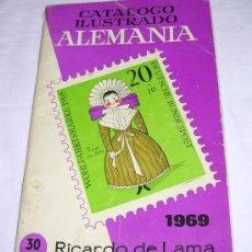 Sellos: CATALOGO ILUSTRADO ALEMANIA - RICARDO DE LAMA - 1969 - BUEN ESTADO GENERAL. Lote 24551731