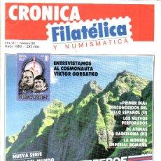Sellos: .......REVISTA CRONICA FILATELICA Nº 65. Lote 23668145