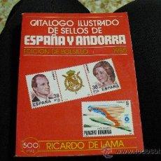 Sellos: CATALOGO ILUSTRADO DE SELLOS DE ESPAÑA Y ANDORA 1.985 (EDICIÓN DE BOLSILLO).-. Lote 25358437