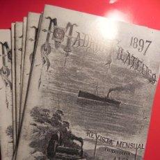 Sellos: LOTE DE 11 REVISTAS MADRID FILATÉLICO. AÑO 1997. REPRODUCCIÓN PRIMERA PORTADA (LG00026). Lote 54066863
