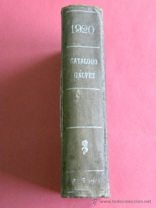 Sellos: Catálogo Galvez sellos correos y telegráfos del mundo incluido España 1920 - Foto 2 - 26562858