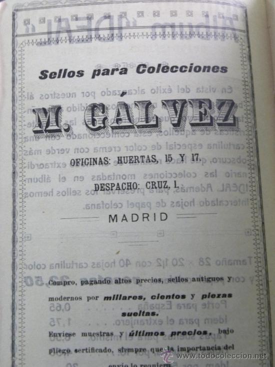 Sellos: Catálogo Galvez sellos correos y telegráfos del mundo incluido España 1920 - Foto 6 - 26562858