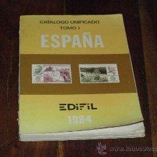Sellos: CATALOGO UNIFICADO DE SELLOS- ESPAÑA- EDIFIL 1984-. Lote 27112777