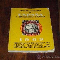 Sellos: CATALOGO UNIFICADO DE ESPAÑA Y DEPENDENCIAS POSTALES 1969. Lote 27031865