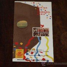 Sellos: FOLLETO SERVICIO FILATELICO- INFORMACIÓN Nº 4/86. 5-2-86. FIESTAS DE CARNAVAL. CADIZ.. Lote 27376593