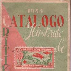 Sellos: CATALOGO DE SELLOS DE ESPAÑA DEL AÑO 1944 DE CRITIKIAN - COSTABA 2 PESETAS. Lote 28469584