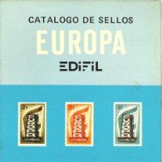 Sellos: CATALOGO SELLOS EDIFIL - AÑO 1981 - EUROPA. Lote 28780425