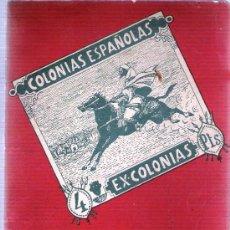Sellos: CATALOGO FILATELIA COLONIAS ESPAÑOLAS Y EXCOLONIAS 1947. Lote 29222712