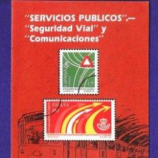 Sellos: BOLETIN FILATELICO Nº 8 /93 - SERVICIOS PUBLICOS - SEGURIDAD VIAL - ED. CORREOS- AÑO 1993. Lote 30015477